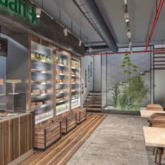 Restaurantes de estilo  por PRODİJİ DİZAYN