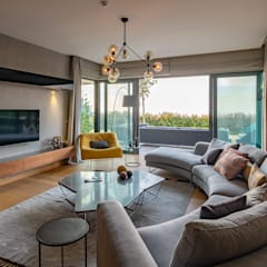 Slash Architects – :  tarz Oturma Odası