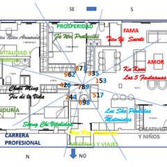Estudio Calle Clara del Rey 14: Casas multifamiliares de estilo  de Alejandra Balbás- Área Feng Shui