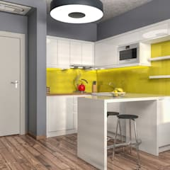 Small kitchens by PRODİJİ DİZAYN
