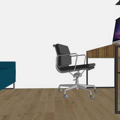 Испанские кварталы: Рабочие кабинеты в . Автор – K.A. Design Laboratory