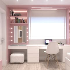 Girls Bedroom by Ana Cano Milman arquitetura e design de interiores