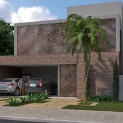 منازل التراس تنفيذ ALESSANDRA  NAHAS arquitetura,
