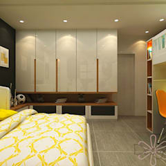 Small bedroom by DESIGNIT