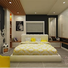 Small bedroom by DESIGNIT, Modern Plywood