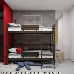 Habitaciones de niños de estilo  de Оксана Мухина