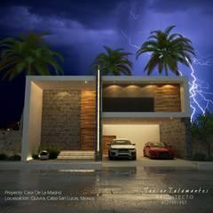Casa De la Madrid: Casas multifamiliares de estilo  por TSC ARK