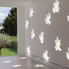 Villa T: Giardino in stile  di Andrea Zanchi Photography