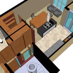 Keukenblokken door homify