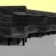 Casas de estilo  por Loberia Arquitectura