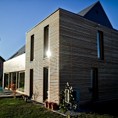 Projekty domów - House 27.1 - realizacja - DomPP.pl: styl , w kategorii Dom jednorodzinny zaprojektowany przez Majchrzak Pracownia Projektowa