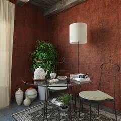 Soggiorno e sala da pranzo: Soggiorno in stile  di Ing. Massimiliano Lusetti