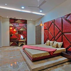 high end private residence project:  Bedroom by Vinyaasa Architecture & Design