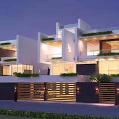 high end private residence project:  Houses by Vinyaasa Architecture & Design