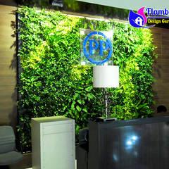 Tukang Taman Vertikal Indoor:  Hotels by Tukang Taman Surabaya - flamboyanasri