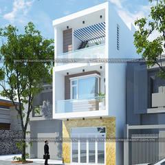 منازل صغيرة تنفيذ Công ty cổ phần tư vấn kiến trúc xây dựng Nam Long