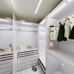 Dressing room by дизайн-студия PandaDom
