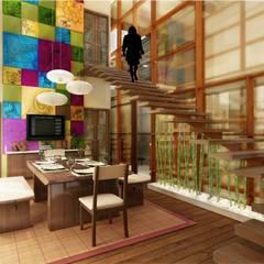 اتاق نشیمن by Vinyaasa Architecture & Design