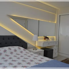 Bünyamin Erdemir Tasarım ve Uygulama – SN:ERHAN DURMUŞ/2015:  tarz Küçük Yatak Odası