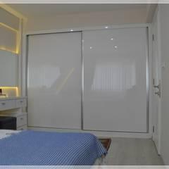 Small bedroom by Bünyamin Erdemir Tasarım ve Uygulama, Modern