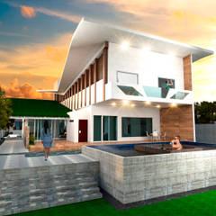 منزل سلبي تنفيذ Eduardo Zamora arquitectos