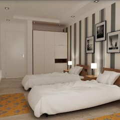 Kleines Schlafzimmer von kübra meltem doğan