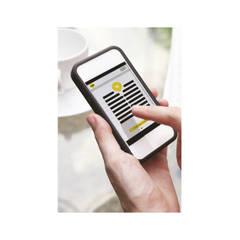 Suporte para app de Smatphone: Mínimo iPhone 4s; iOS 7 e superior. Mínimo Nexus4, Samsung S3, Galaxy Note; Android 4.3 e superior: Portas  por ASSA ABLOY Portugal