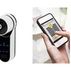 Fechadura Digital ENTR Smart Lock solution por ASSA ABLOY Portugal Moderno