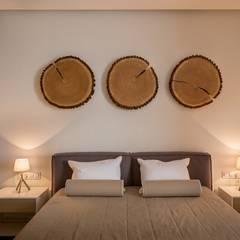 Kleines Schlafzimmer von 'Комфорт Дизайн'