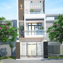 บ้านขนาดเล็ก by Công ty cổ phần tư vấn kiến trúc xây dựng Nam Long