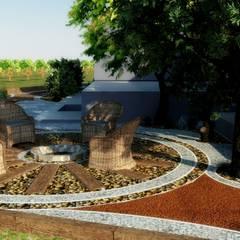 حیاط by Mimari 3D Render