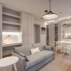 Ruang Keluarga oleh MOB ARCHITECTS, Modern