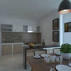 Kitchen units by Arsitekpedia