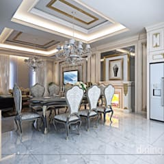 Dining room by Studio Ardhyaksa
