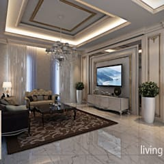 Living room by Studio Ardhyaksa