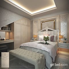 Girls Bedroom by Studio Ardhyaksa