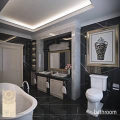 Bathroom by Studio Ardhyaksa