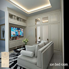 Boys Bedroom by Studio Ardhyaksa