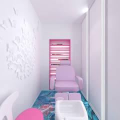 Spa de estilo  por Студия дизайна интерьера Руслана и Марии Грин