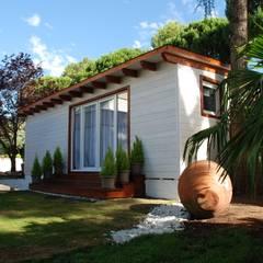 Casas de madera de estilo  por Casetas de Madera