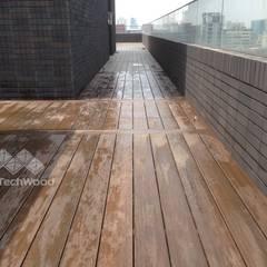 Roof terrace by 新綠境實業有限公司