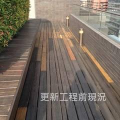 Azoteas de estilo  por 新綠境實業有限公司