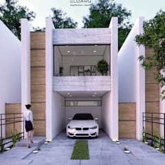 casa en cancun: Casas pequeñas de estilo  por ELOARQ