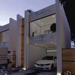 บ้านขนาดเล็ก by ELOARQ