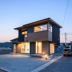 Wooden houses by 風景のある家.LLC