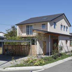 外観: 悠らり建築事務所が手掛けた家です。