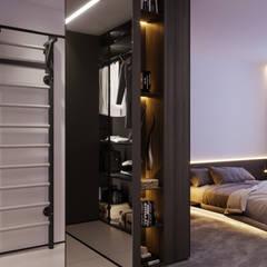 Апартаменты Europa City от бюро Suite n.7: Гардеробные в . Автор – Suiten7