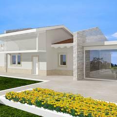 فيلا تنفيذ Avantgarde Construct Luxury Srl , كلاسيكي خشب Wood effect