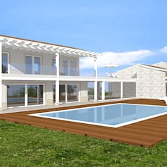 Villas by Avantgarde Construct Luxury Srl, Classic Wood Wood effect
