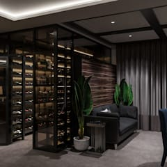 eclectic Wine cellar by Студия авторского дизайна ASHE Home